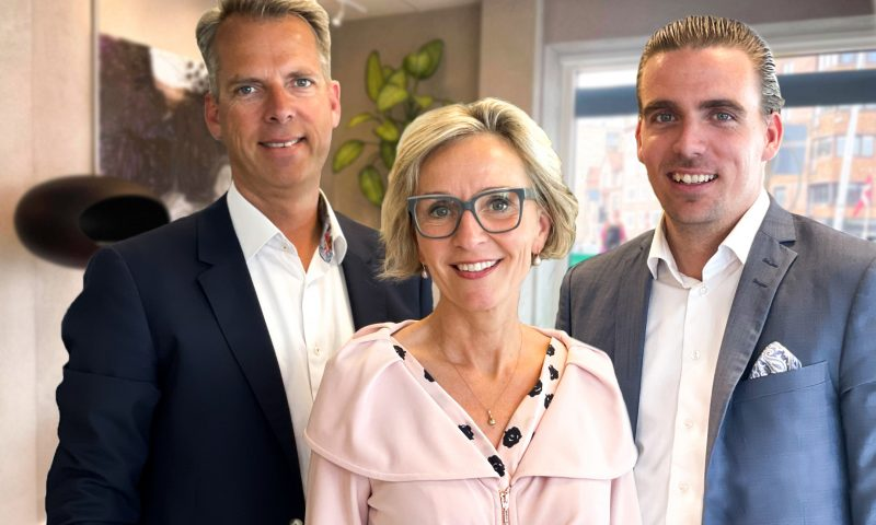 Palle Ørtoft, Inge Ørtoft og Tobias Nielsen