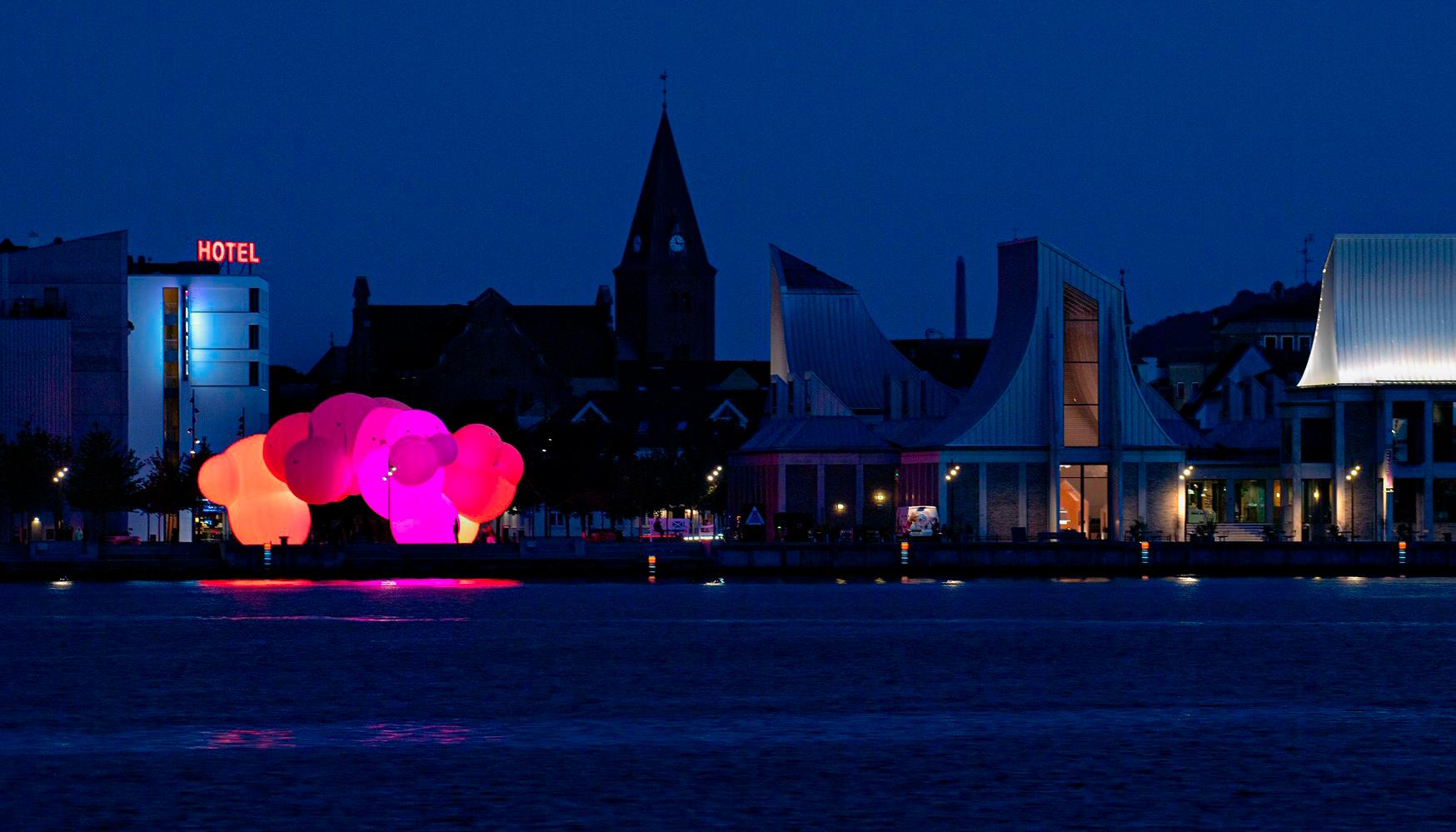Wauw!: Bjarke Ingels SKUM lyser i mørke