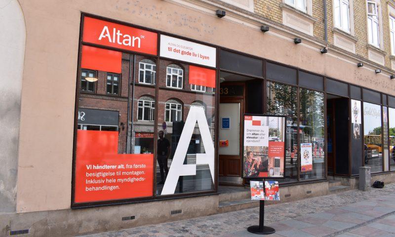 Altan.dk har åbnet et showroom på Boulevarden 33A i Aalborg.
