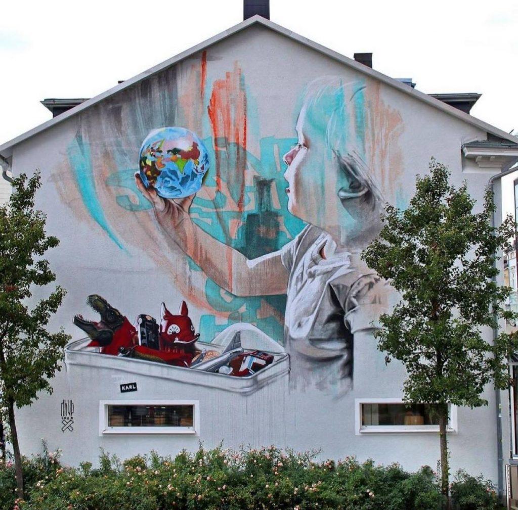 Meget mere Street Art denne sommer: Internationale kunstnere slår vejen forbi Aalborg