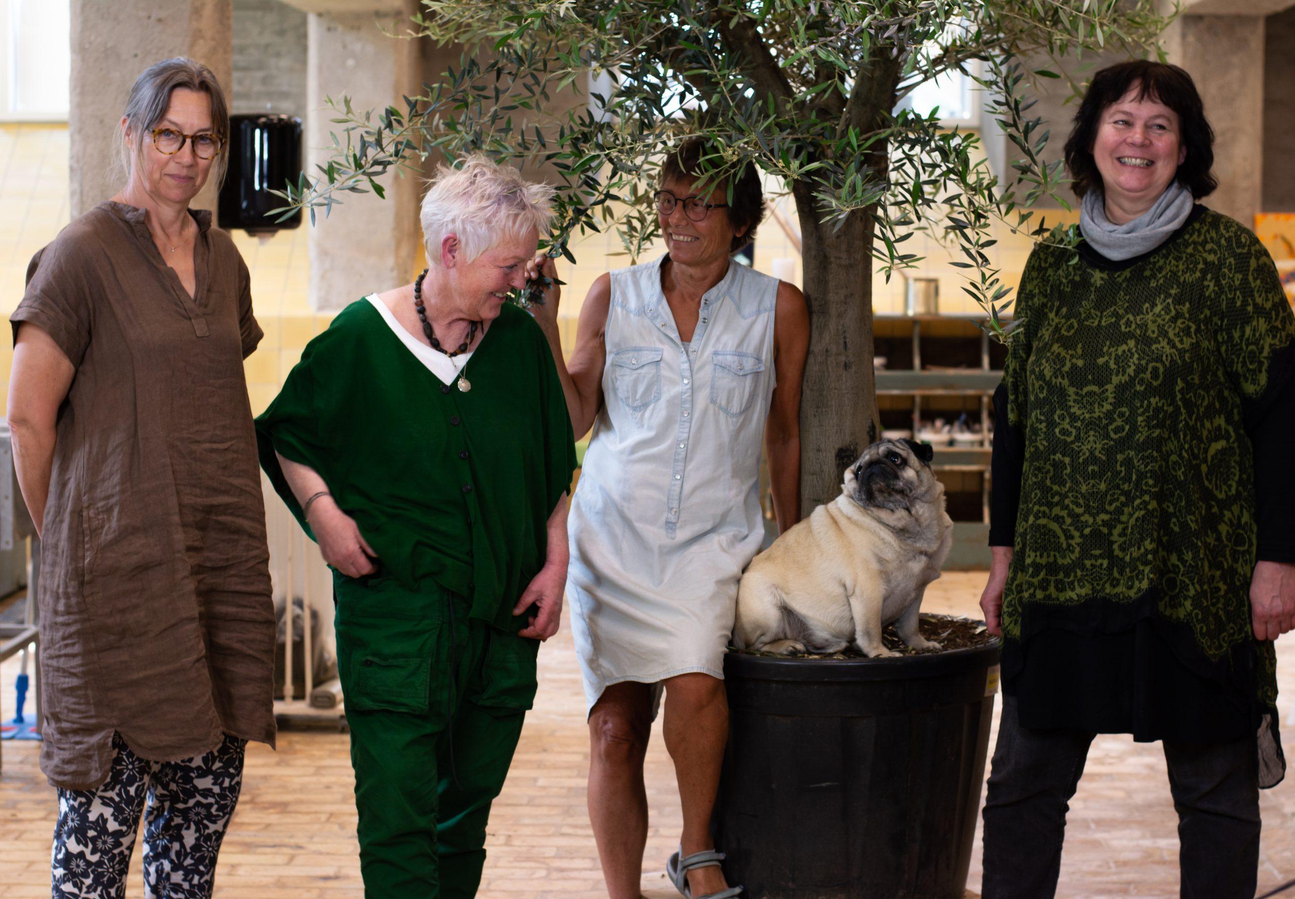 Vin, hund og kaffekop i ler: Nyt keramikværksted står klar i Aalborg