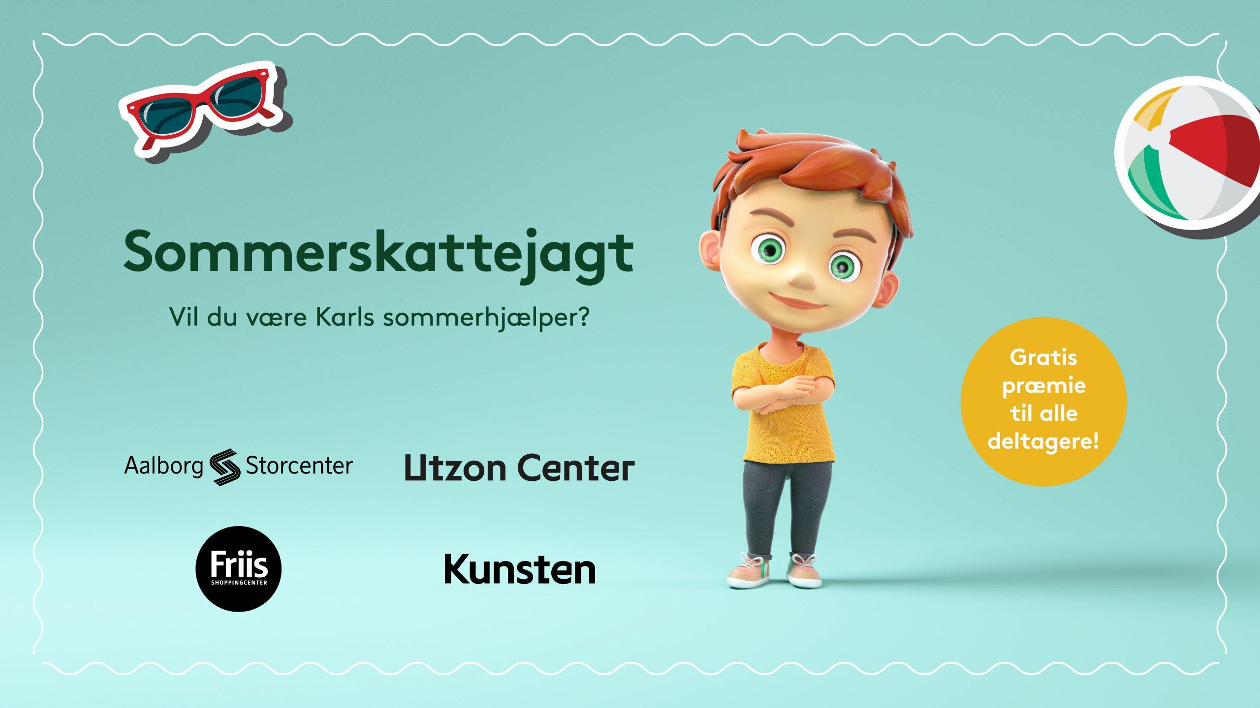 Hjælp Karl: Ny skattejagt i Aalborg er perfekt til sommerferien