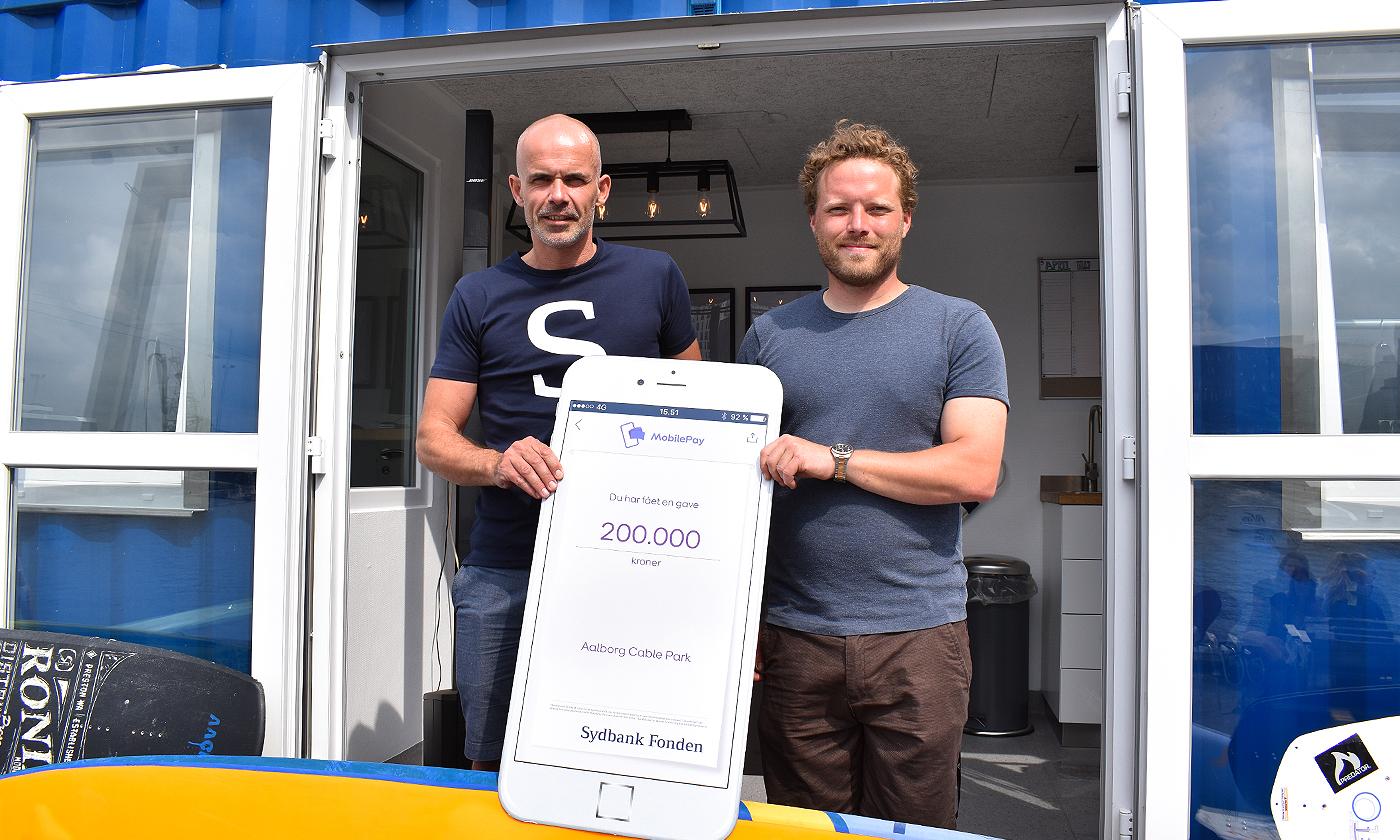 Er blevet en kæmpe succes: Stor donation sikrer Aalborg Cable Park et klubhus
