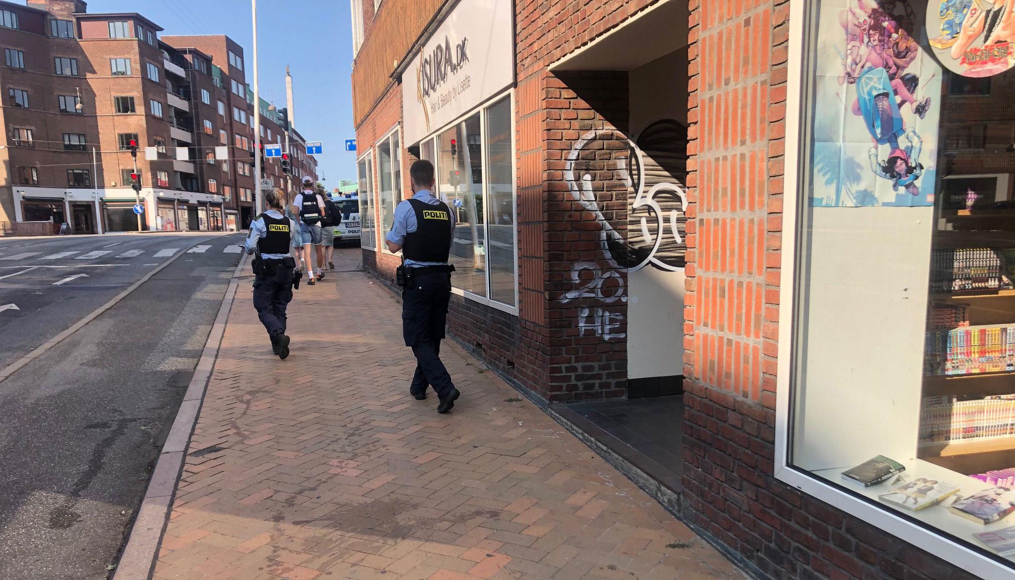 Nordjyllands Politi: Flere personer anholdt efter stort slagsmål i Aalborg