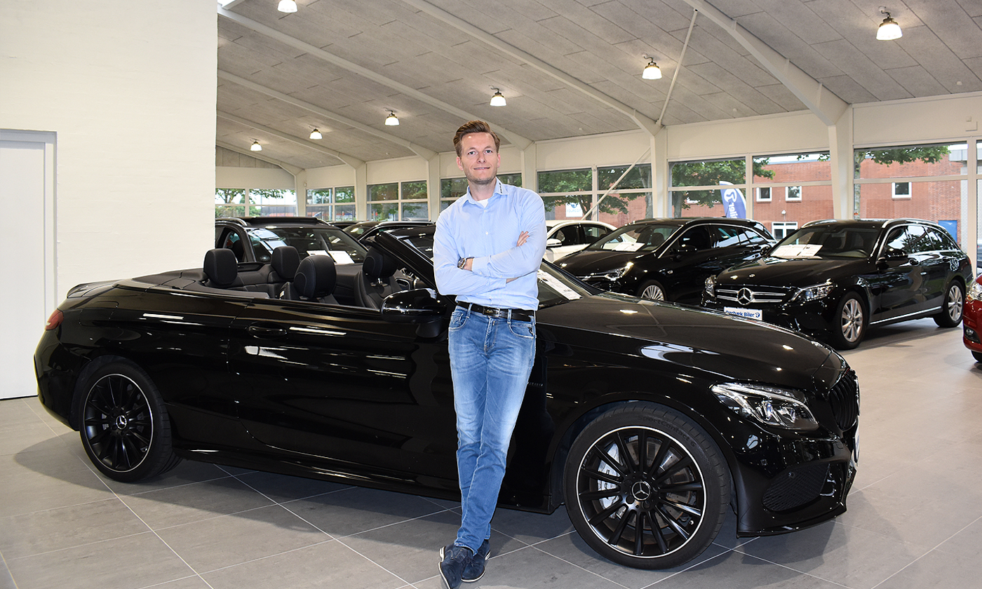 Drømmen blev til virkelighed:Ny afdeling af Rørbæk Biler står færdig