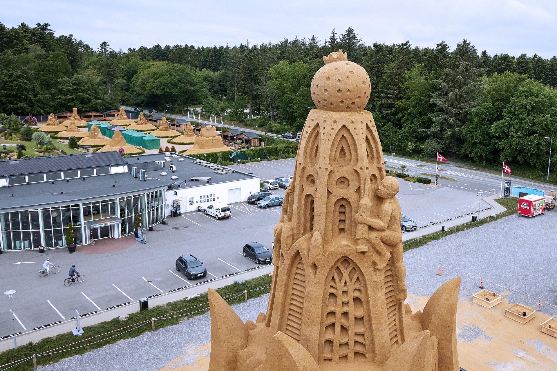 Så er det officielt: Sandslottet i Blokhus er verdens største