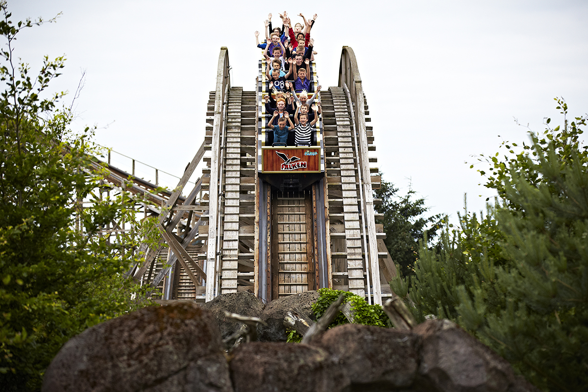 Livlig højsæson: 320.000 besøgte Fårup Sommerland i sommerferien