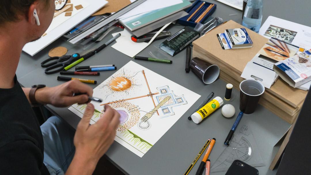 Sommerskole: Arkitektur-studerende eksperimenterer på Utzon Center og i Aalborgs gader