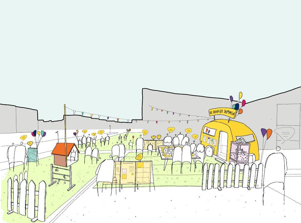 Særlig campingvogn kommer rundt: Ny byudviklingsplan på vej i en større del af Aalborg
