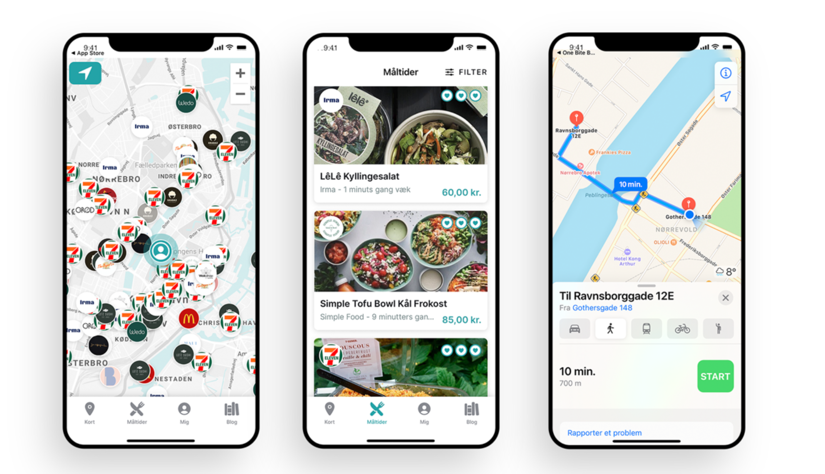 Ovenpå sommerferien: Populær app hjælper med at finde sundere Takeaway