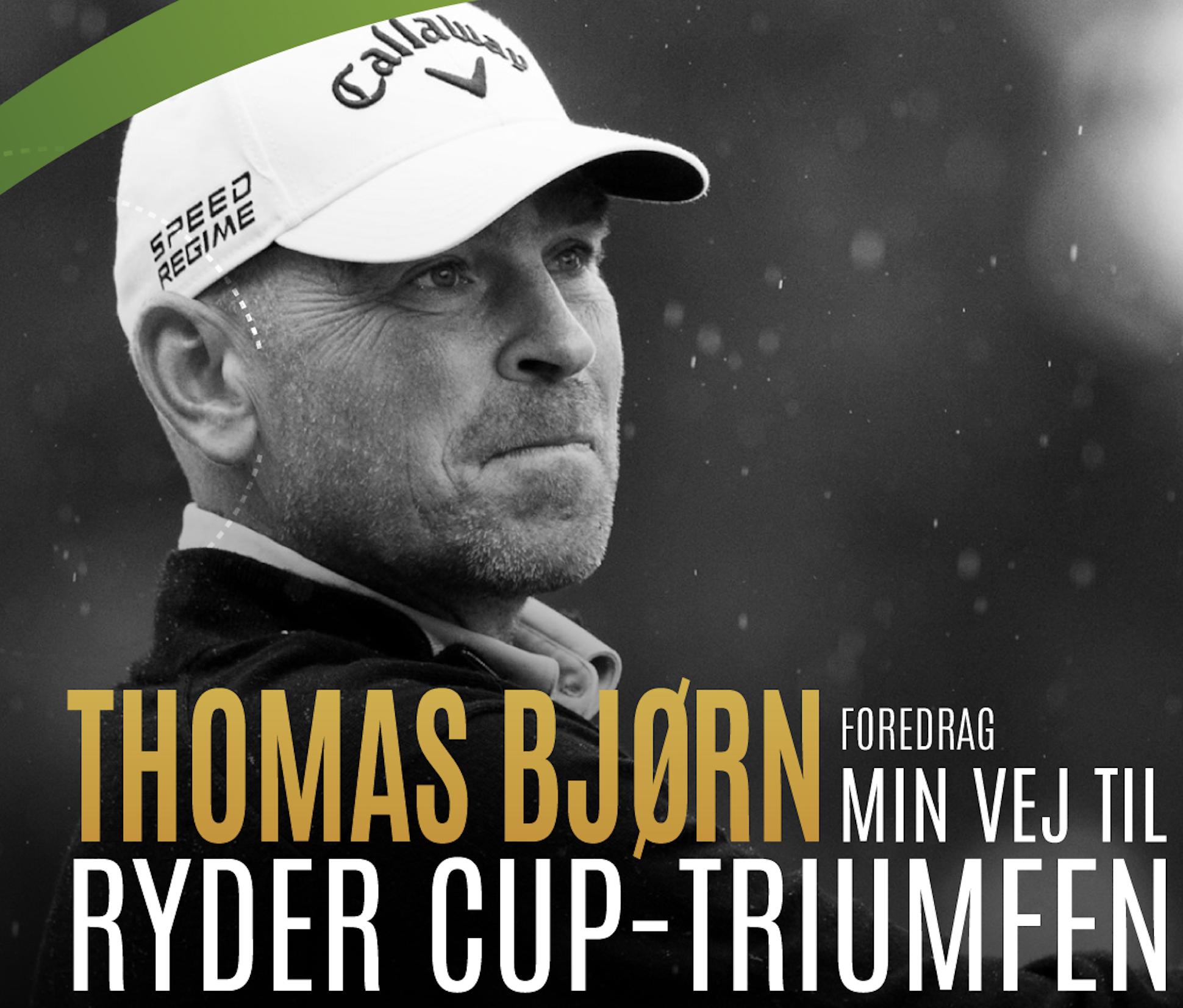 Historier fra en fantastisk karriere: Kom til en unik aften med Thomas Bjørn i Aalborg
