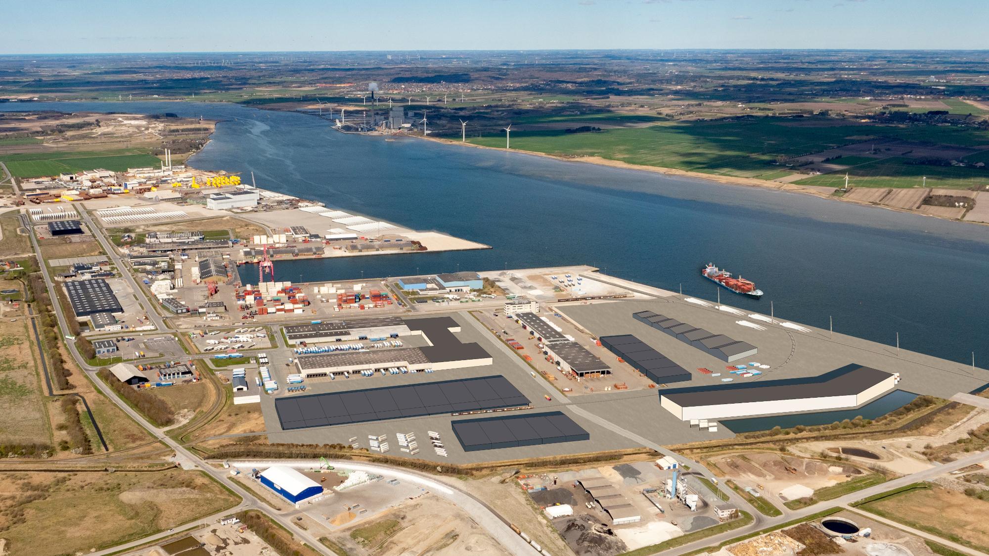 Trafikknudepunkt styrkes markant: Kæmpe udvidelse på vej i Aalborg Havn