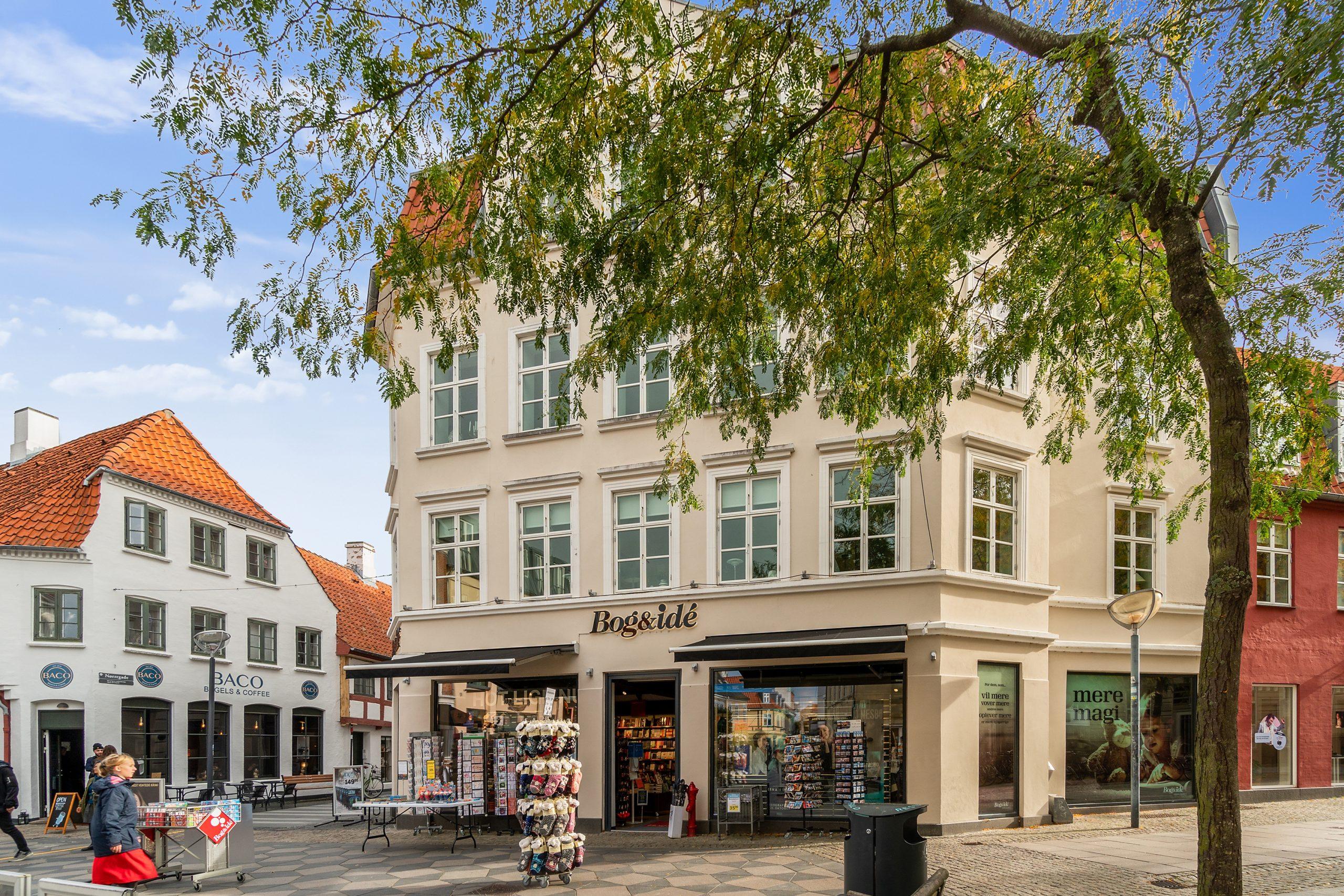 Efter 30 år: Ikonisk bygning i gågaden er blevet solgt