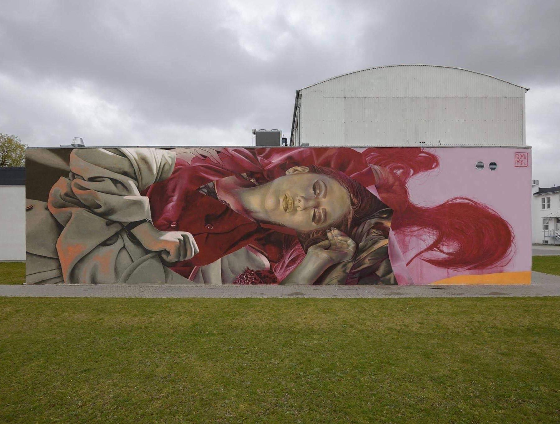 Mere Street Art: Internationale kunstnere maler nyt gavlmaleri i Aalborg