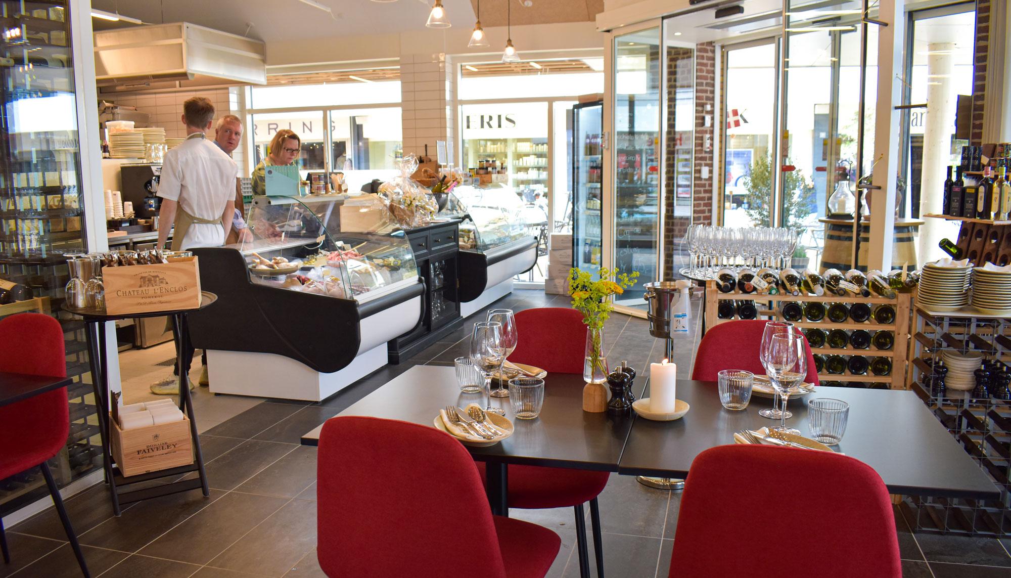 Åbnede i dag: Her er Aalborgs nye Deli & Vinbar