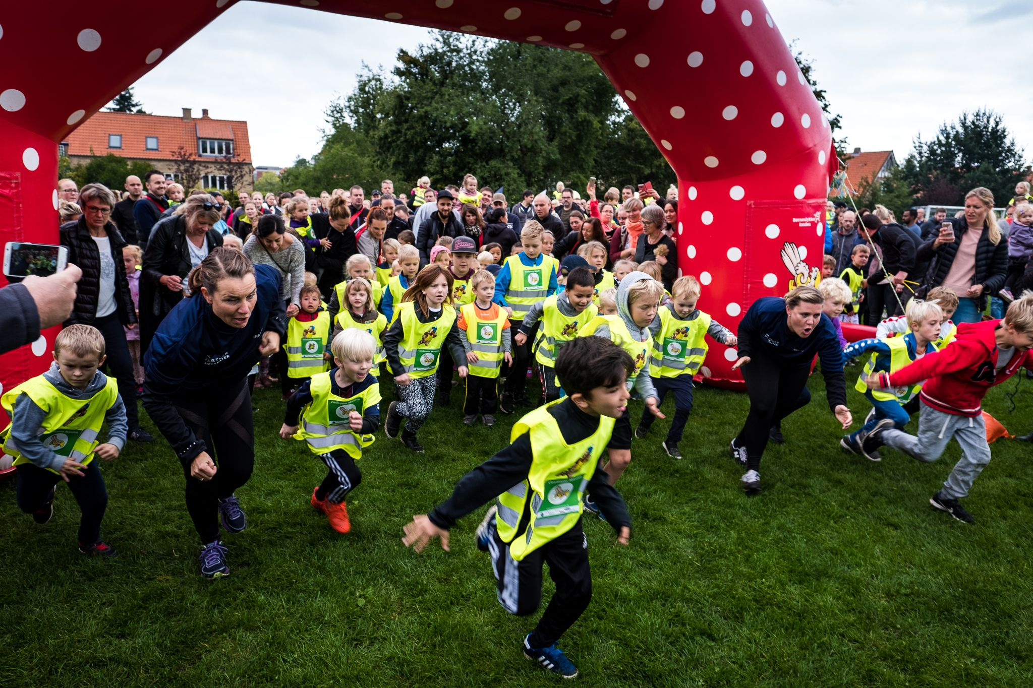 Sjovt løb for de mindste: Kom til Centimeter Maraton med Rasmus Klump