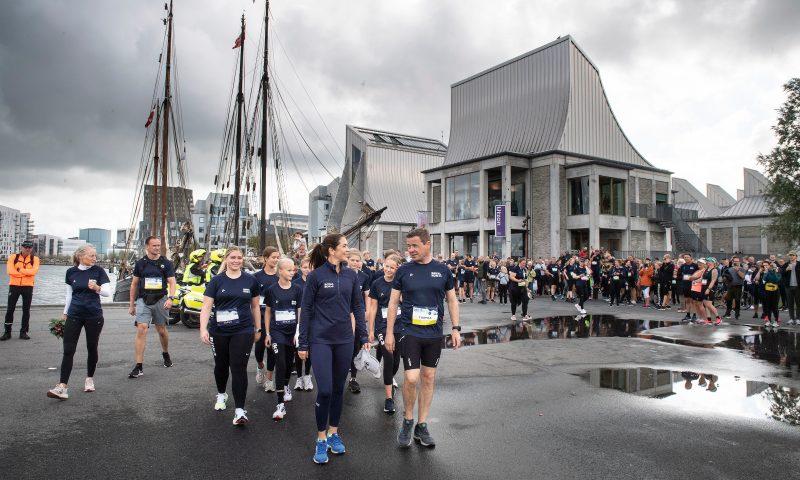 Royal Run 2021 Aalborg  HKH Kronprinsesse Mary   Dato: 12.09.21 Foto:  Lars Horn / Baghuset