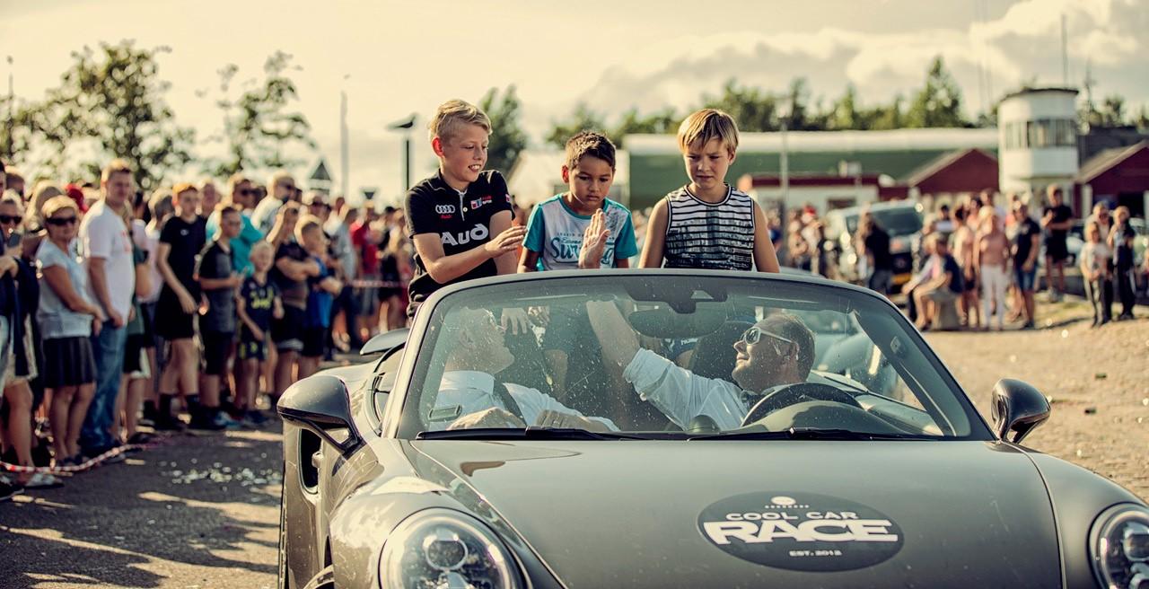 Oplev masser af vilde superbiler: Cool Car Race slutter i Aalborg i år
