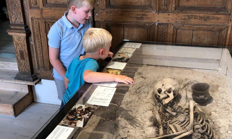 Skeletværksted og knoglejagt Aalborg Historiske Museum åbner i efterårsferien et skeletværksted, hvor børn kan støbe kranier og meget andet. Der er desuden knoglejagt i museets udstilling. Foto: Nordjyske Museer