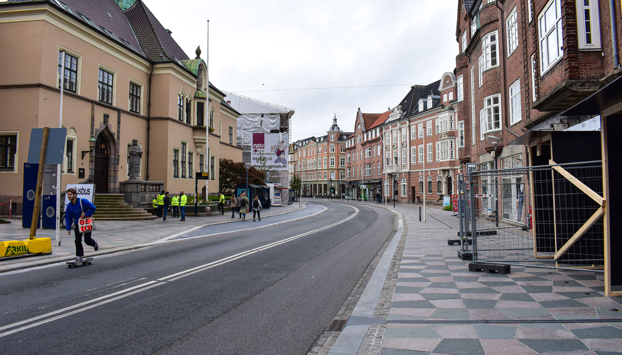 Efter flere måneders kaos: Centrale veje i Aalborg er endelig genåbnet