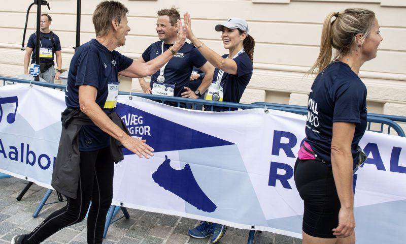 Royal Run 2021 Aalborg  HKH Kronprinsesse Mary   Foto:  Lars Horn / Baghuset