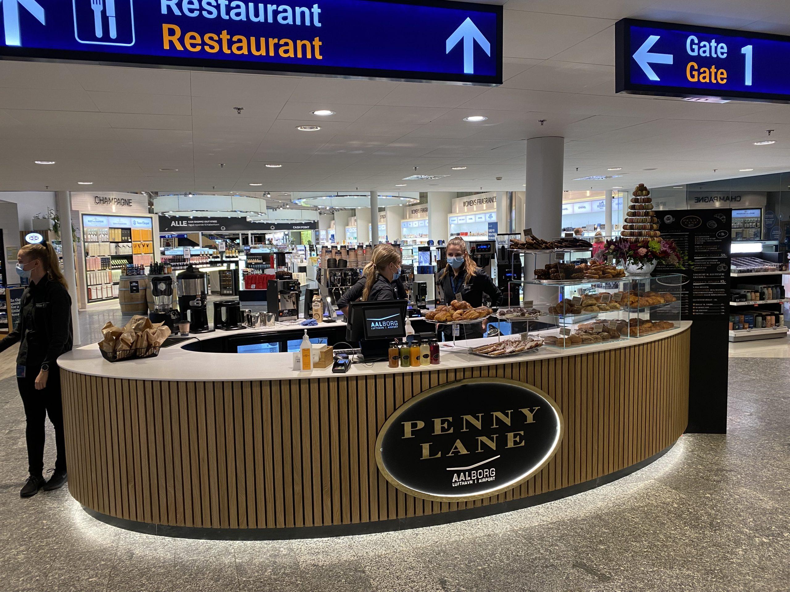 Baking News: Penny Lane åbner i Aalborg Lufthavn