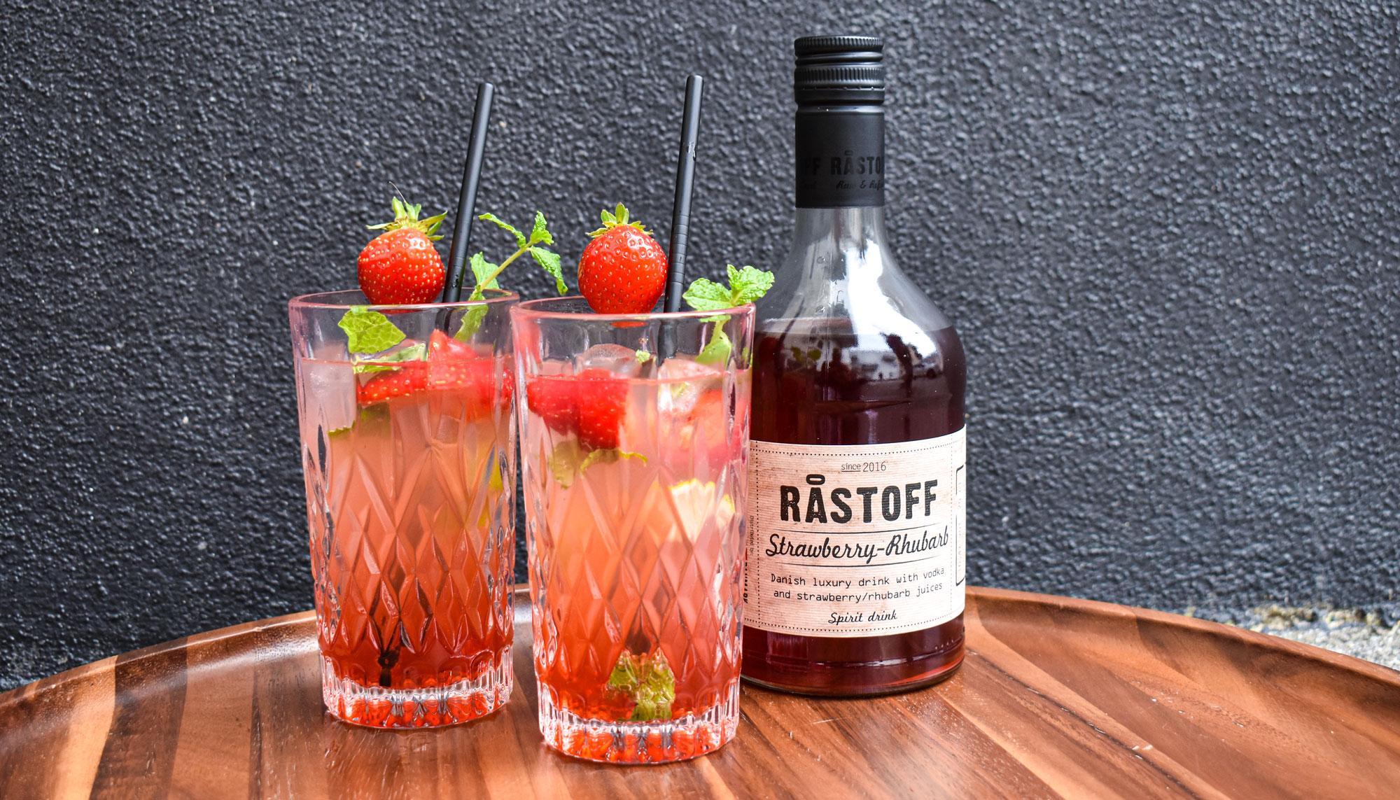 Astronaut-drinken har indtaget landet: Råstoff Strawberry-Rhubarb er et kæmpehit