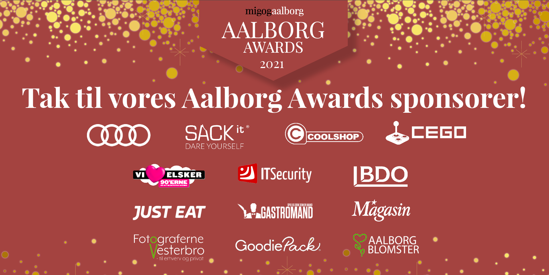 Prisregn: Her er alle vinderne til AALBORG AWARDS 2021