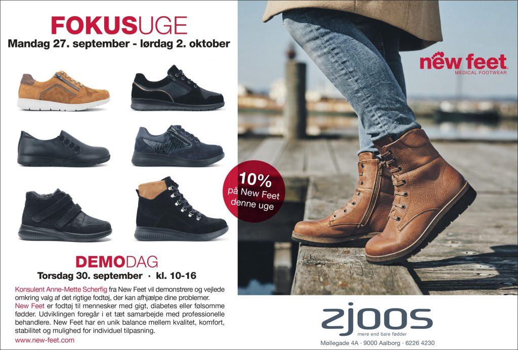 Find det rigtige fodtøj: Zjoos inviterer til New Feet demo-dag