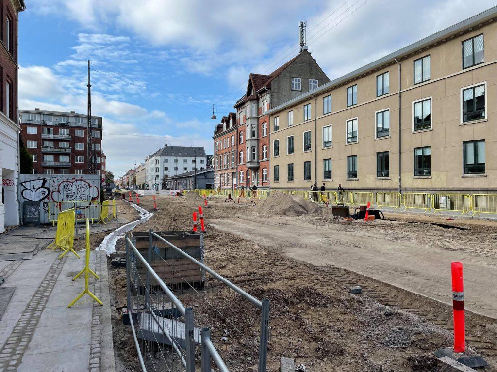 Mere vejarbejde: Central gade spærres fra mandag