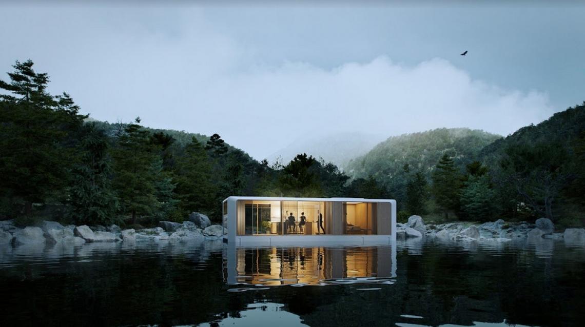 Store planer: GoBoat vil placere flydende sauna-øer på vandet